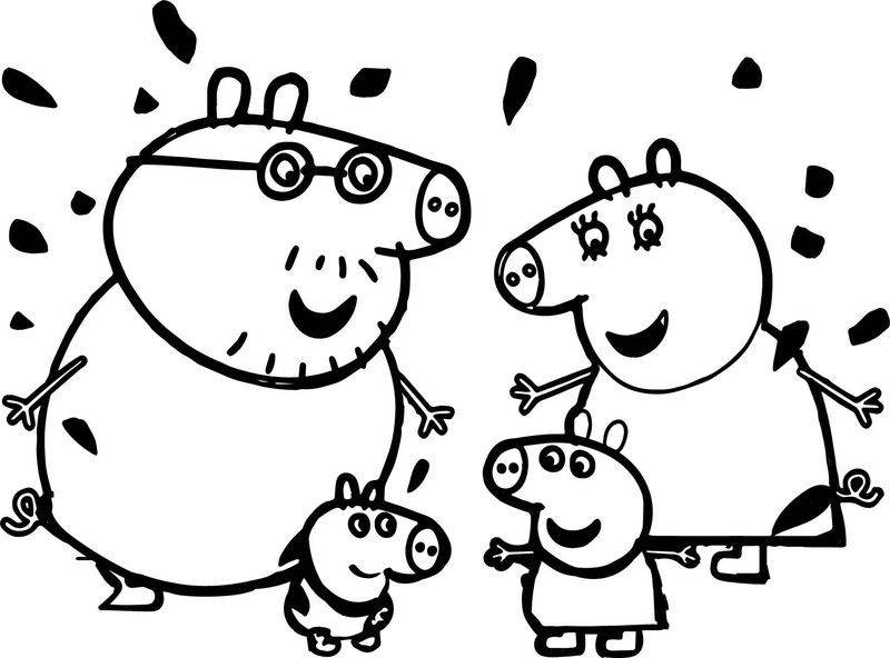 peppa pig colo funny peppa pig coloring page coloring sheets colo peppa pig