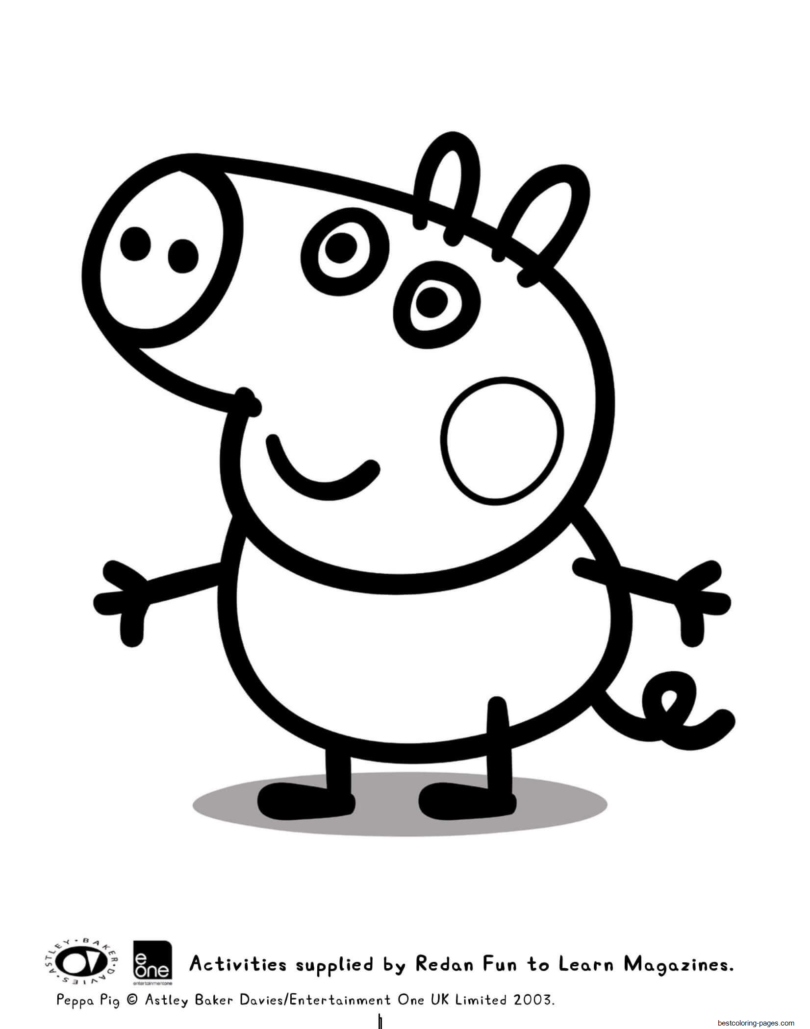 peppa pig colo george peppa pig coloring pages printable for kids adults pig peppa colo