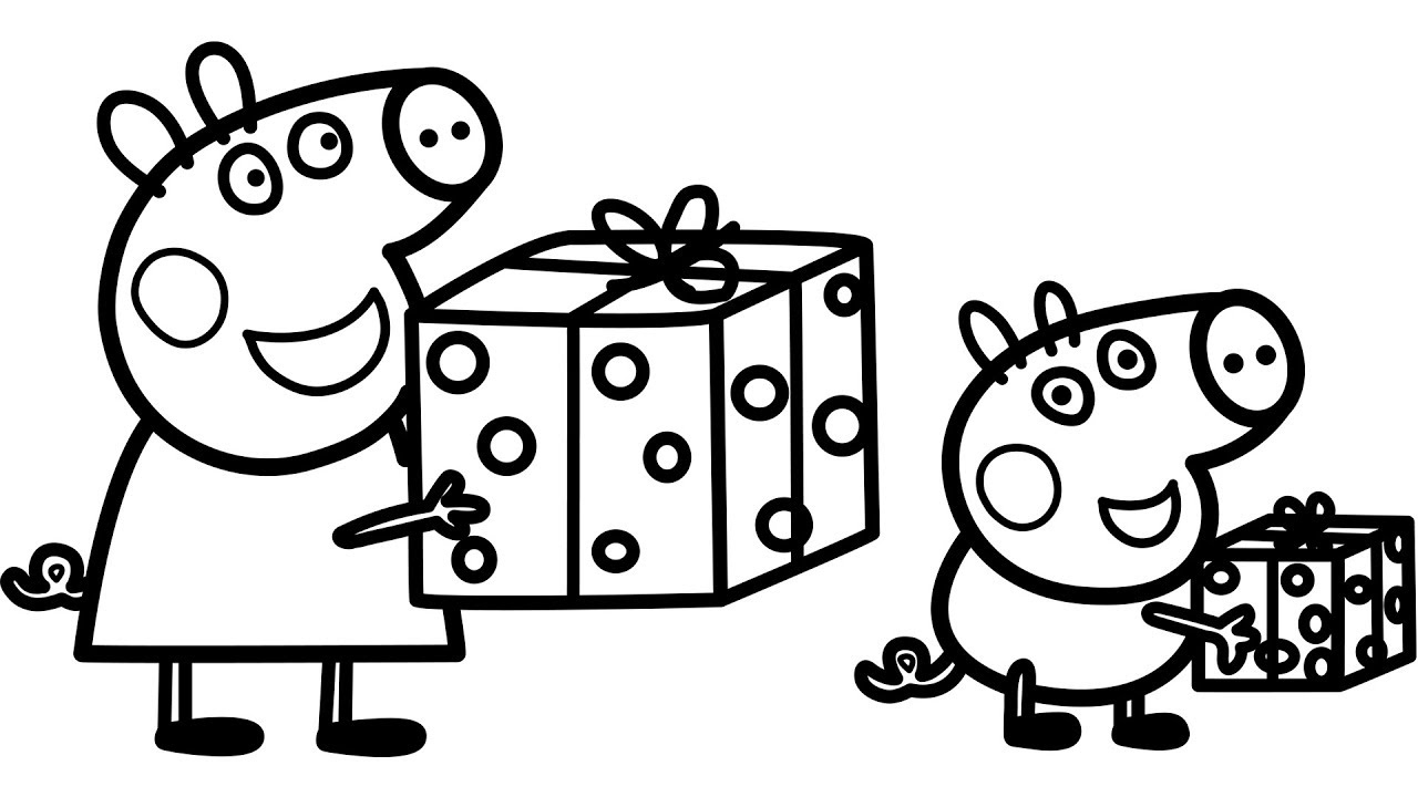peppa pig colo peppa pig birthday party coloring pages colo pig peppa