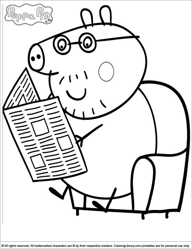 peppa pig colo peppa pig coloring pages books 100 free and printable pig peppa colo
