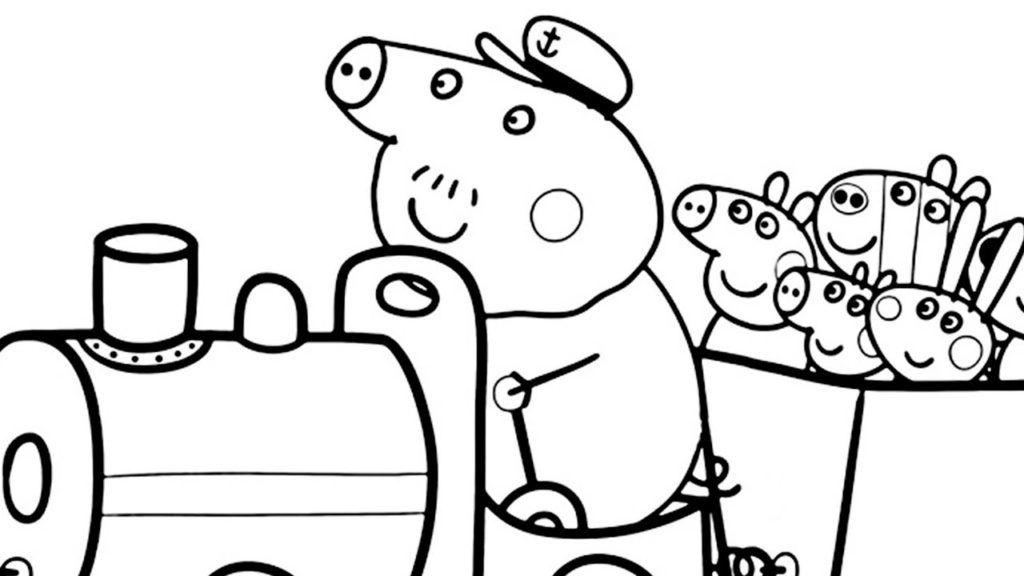 peppa pig colo peppa pig coloring pages peppa pig coloring pages fall pig colo peppa
