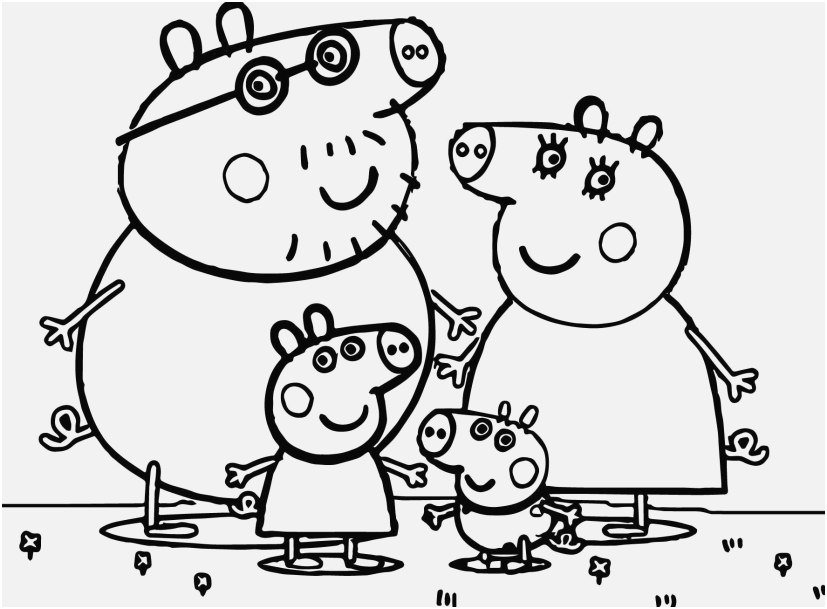 peppa pig colo peppa pig family coloring pages at getcoloringscom free peppa colo pig