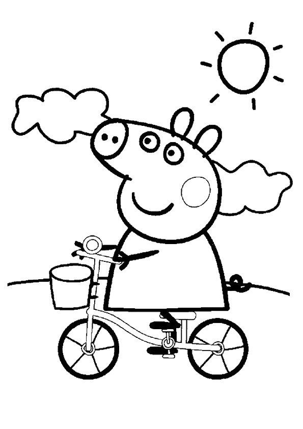 peppa pig colo printable peppa pig coloring pages for your little ones peppa colo pig