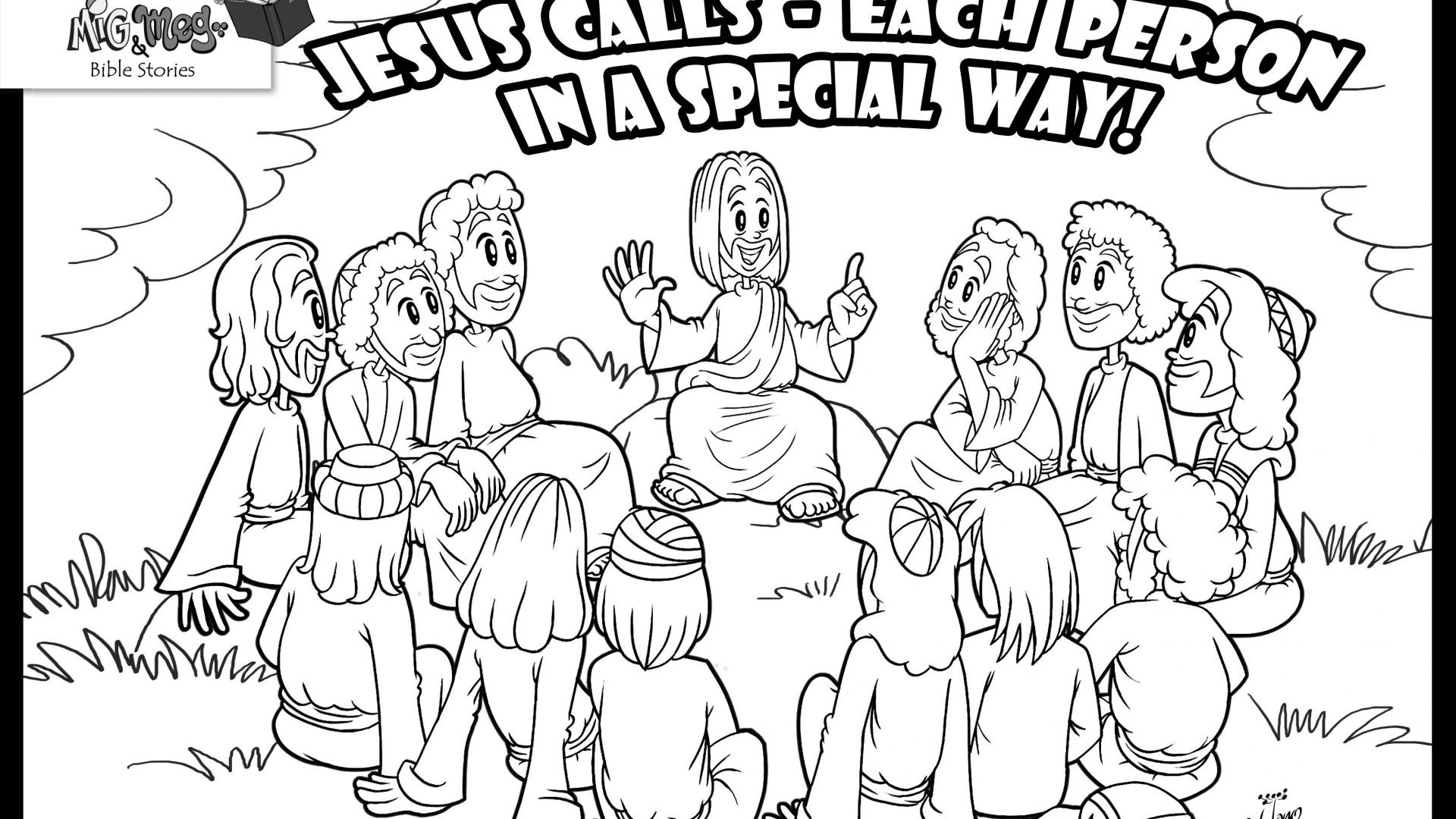 peter and andrew meet jesus coloring page 12 apostles of jesus christ coloring page coloring meet jesus and page andrew peter