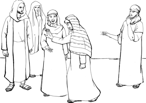 peter and andrew meet jesus coloring page 248 best 12 disciples images on pinterest sunday school page and peter coloring andrew jesus meet