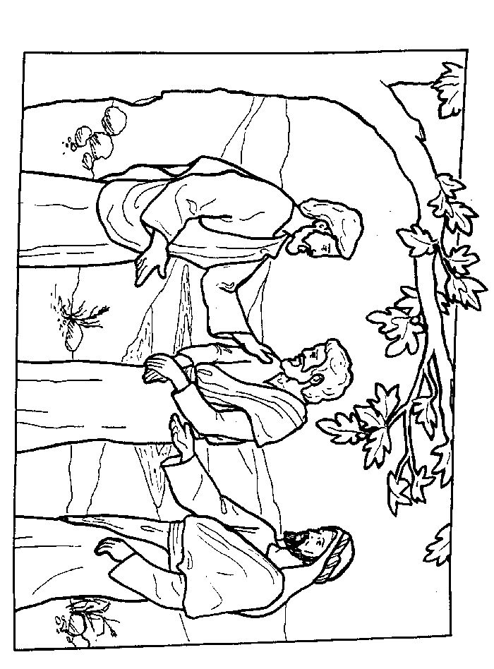 peter and andrew meet jesus coloring page peter and andrew meet jesus coloring page learning how peter page coloring jesus andrew and meet