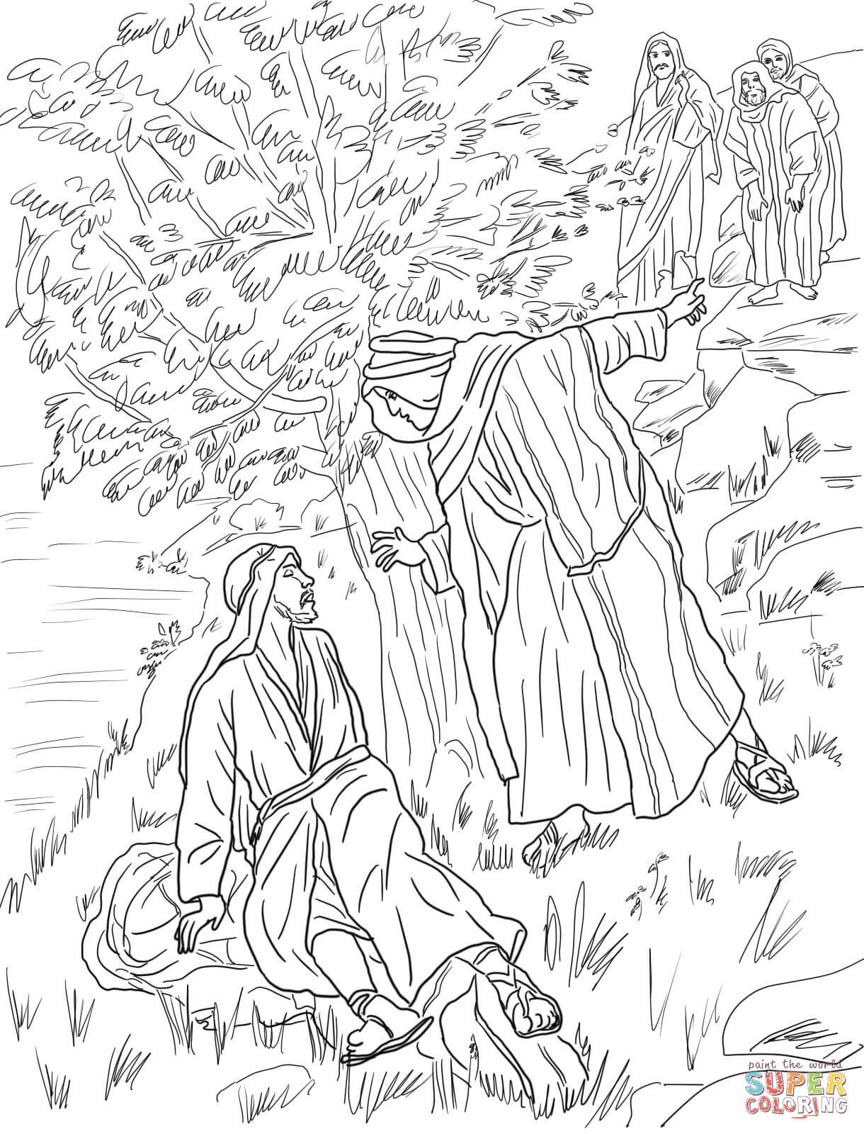 peter and andrew meet jesus coloring page peter and dorcas coloring page free printable coloring pages meet andrew peter coloring page and jesus