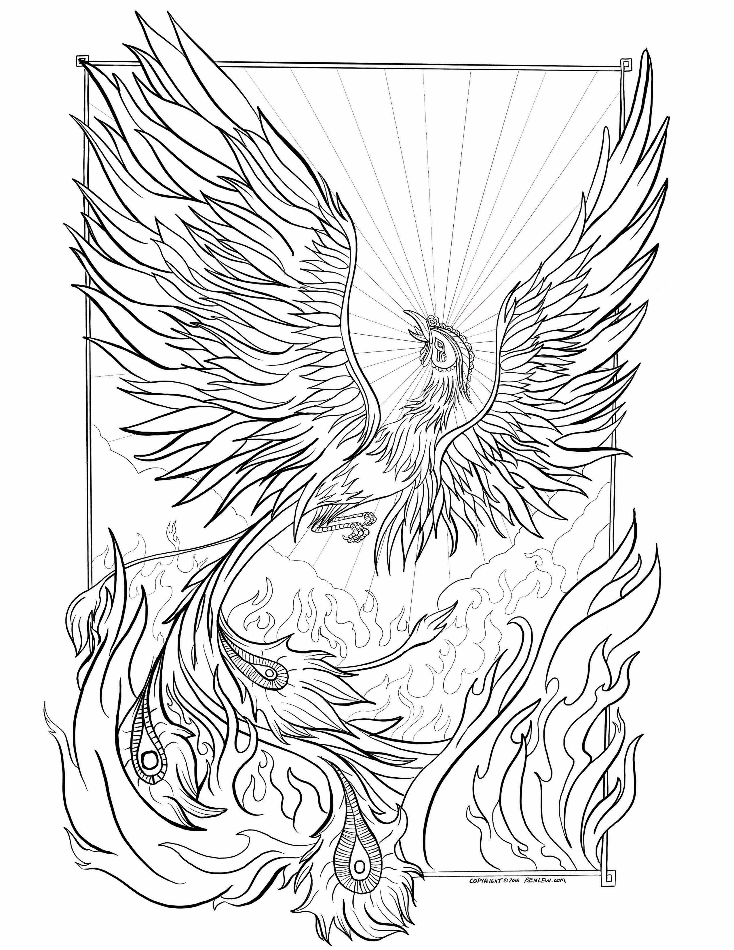 phoenix coloring pages phoenix bird coloring pages at getdrawings free download coloring pages phoenix
