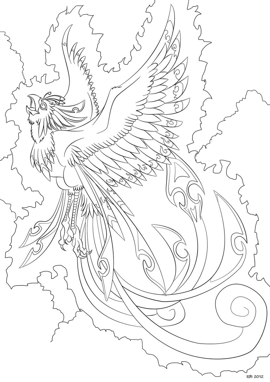 phoenix coloring pages phoenix coloring in page 8 by darkly shaded shadow on pages coloring phoenix