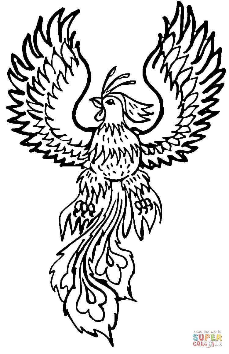 phoenix coloring pages phoenix coloring pages to download and print for free coloring pages phoenix