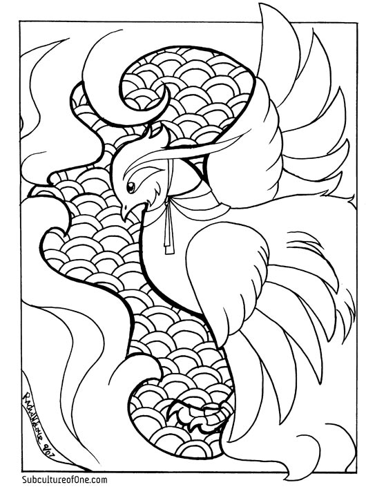 phoenix coloring pages wonderful picture of phoenix coloring page bird coloring pages coloring phoenix