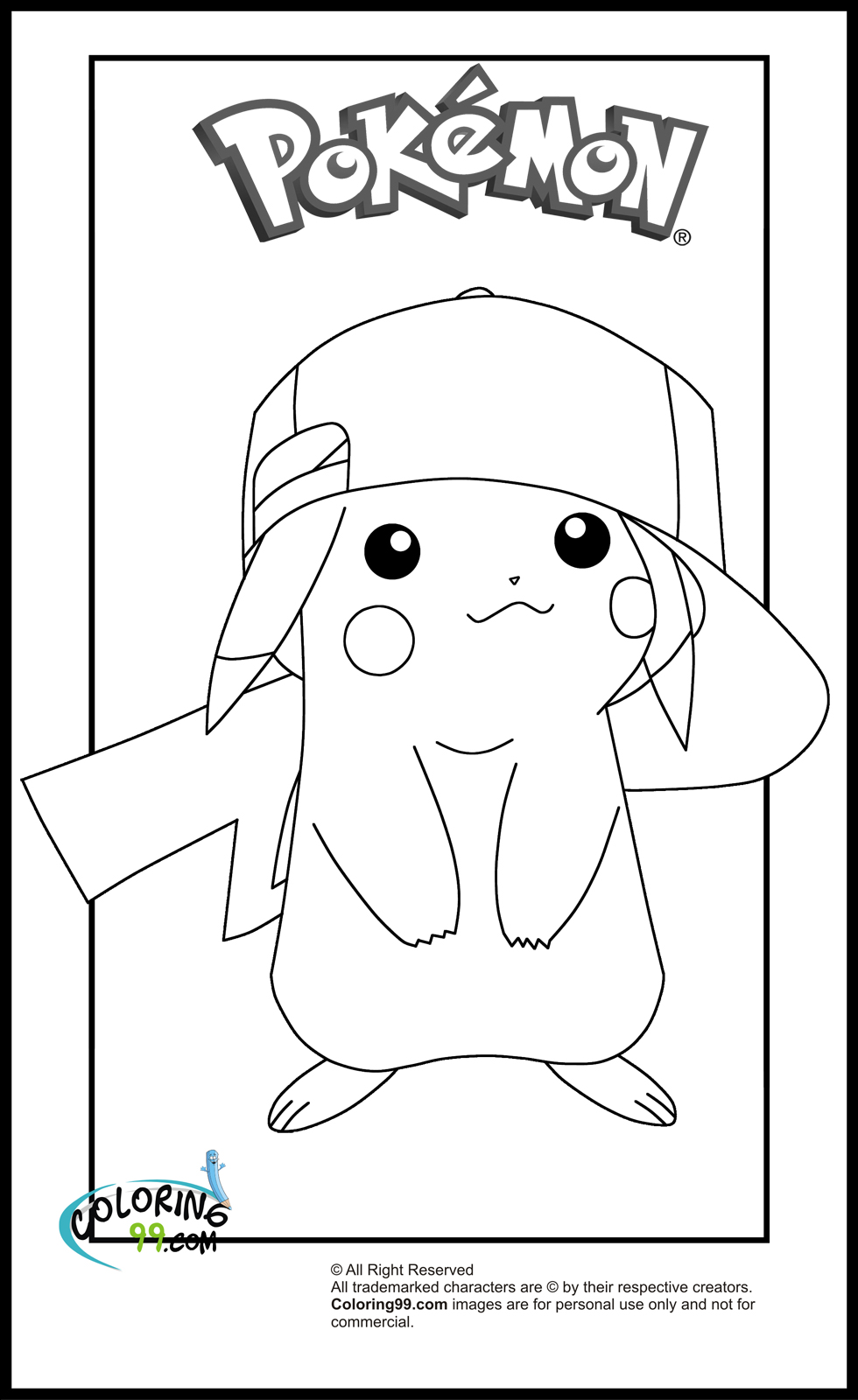 picachu coloring pages adorable pikachu coloring pages 101 coloring pages coloring picachu
