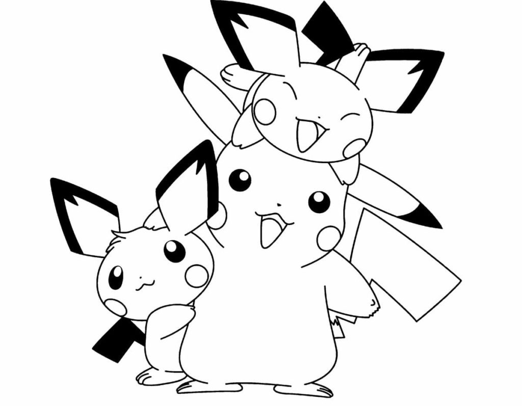 picachu coloring pages free printable pikachu coloring pages coloring junction picachu pages coloring