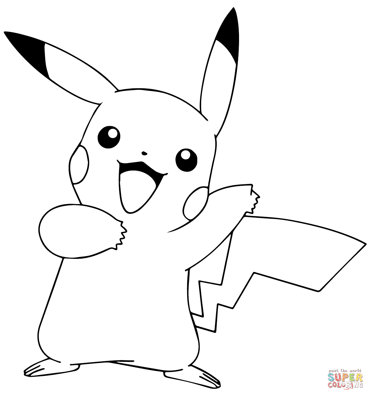 picachu coloring pages pikachu coloring pages free large images pages picachu coloring