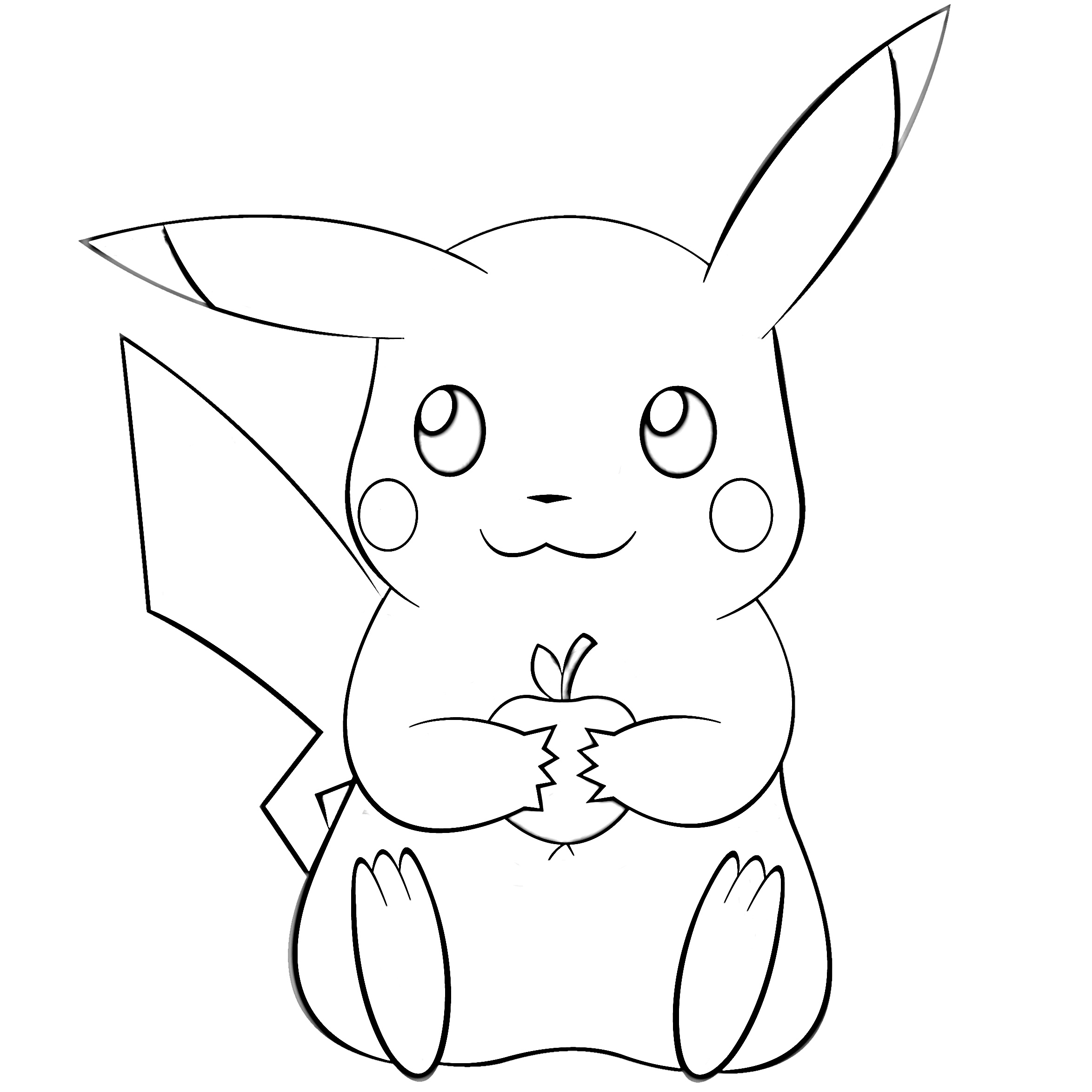 picachu coloring pages pikachu coloring pages free printable pikachu coloring pages pages coloring picachu