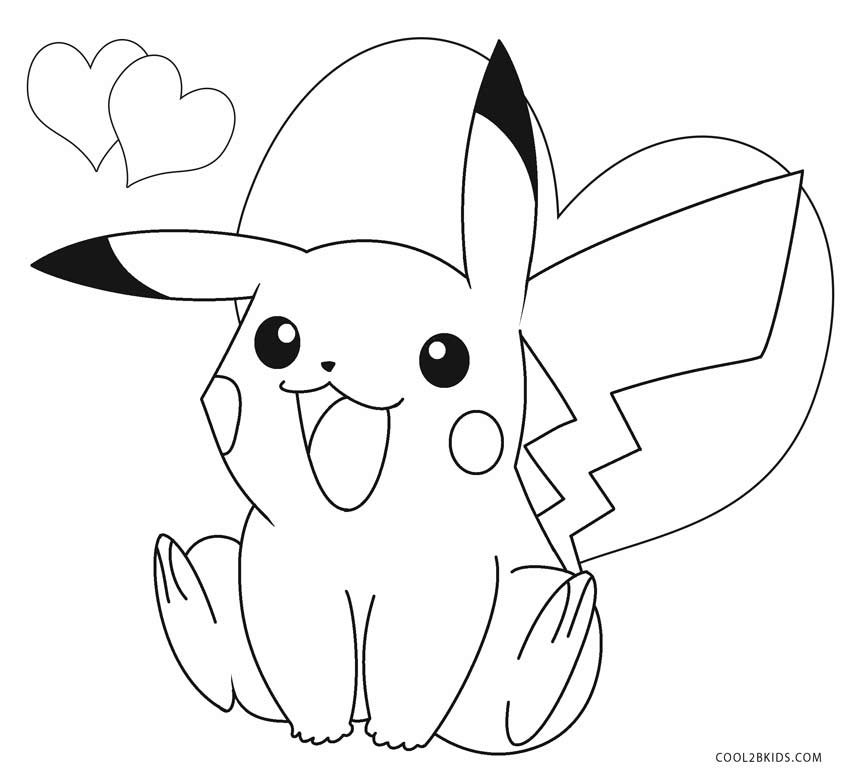 picachu coloring pages pikachu coloring pages to download and print for free pages picachu coloring