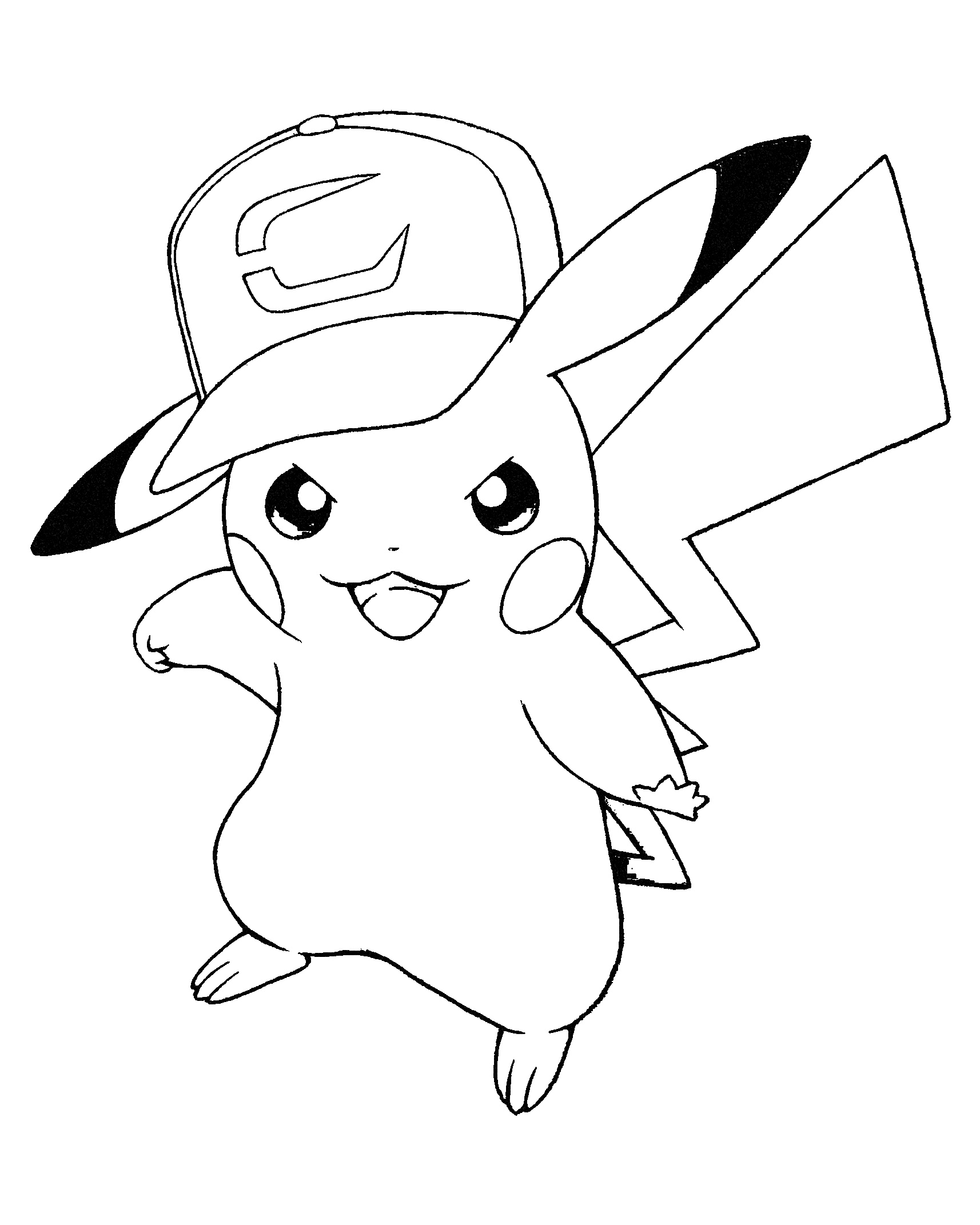 picachu coloring pages pikachu coloring pages to download and print for free picachu coloring pages