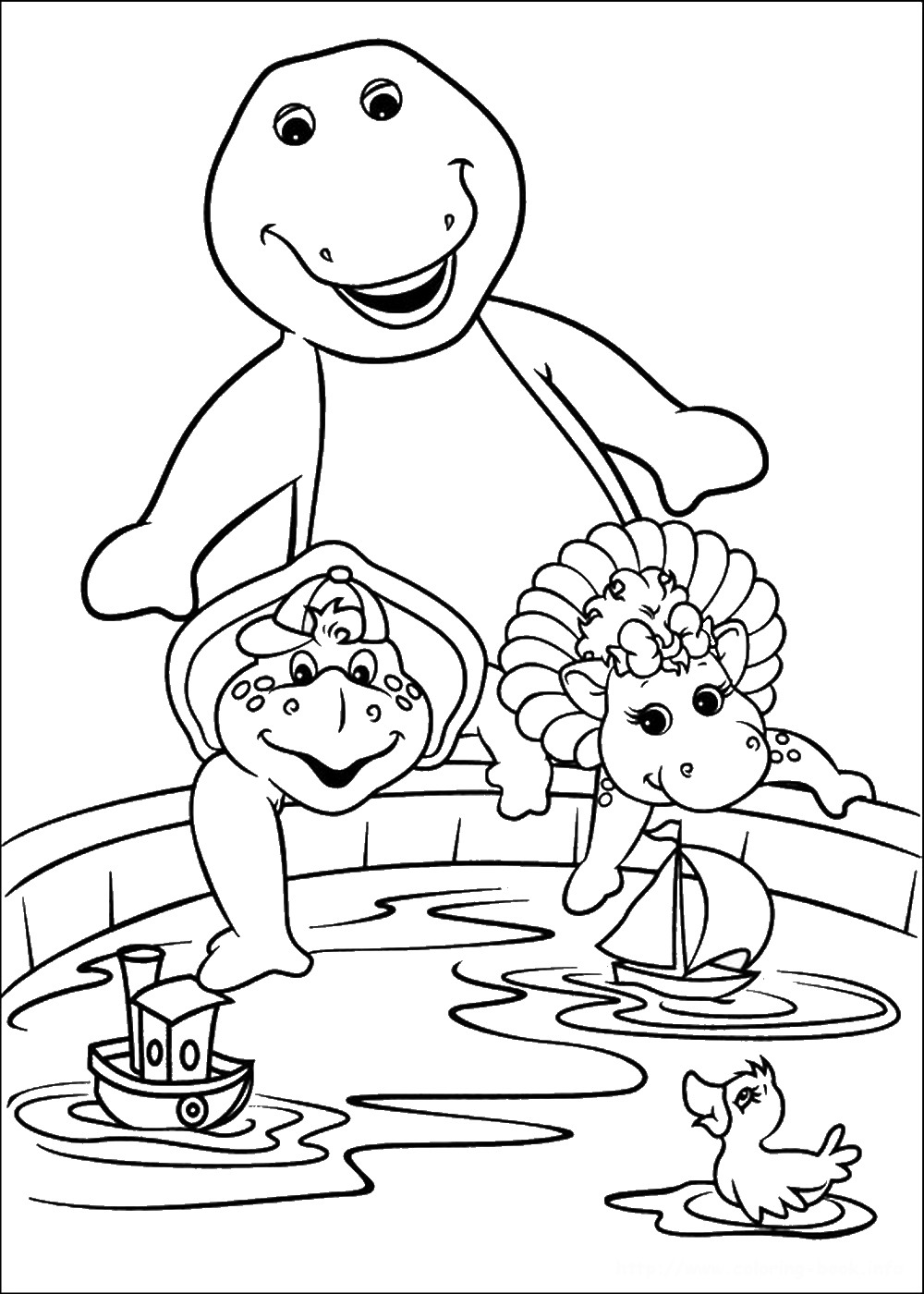 pics to colour barney coloring pages pics to colour