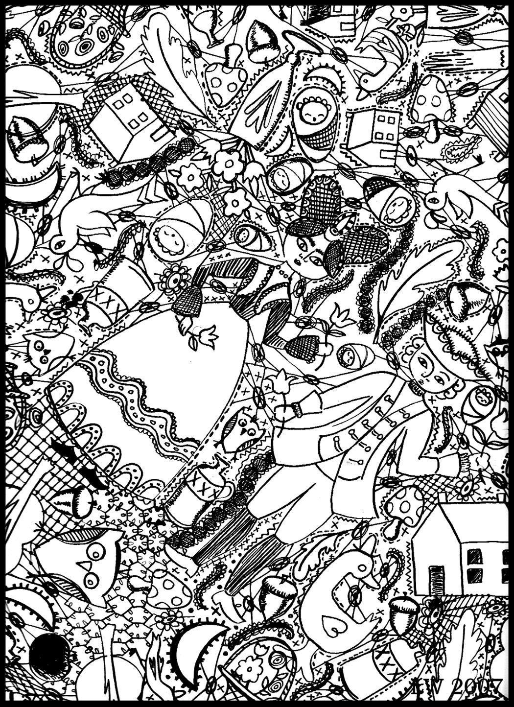 pics to colour free doodle art coloring pages coloring home to colour pics