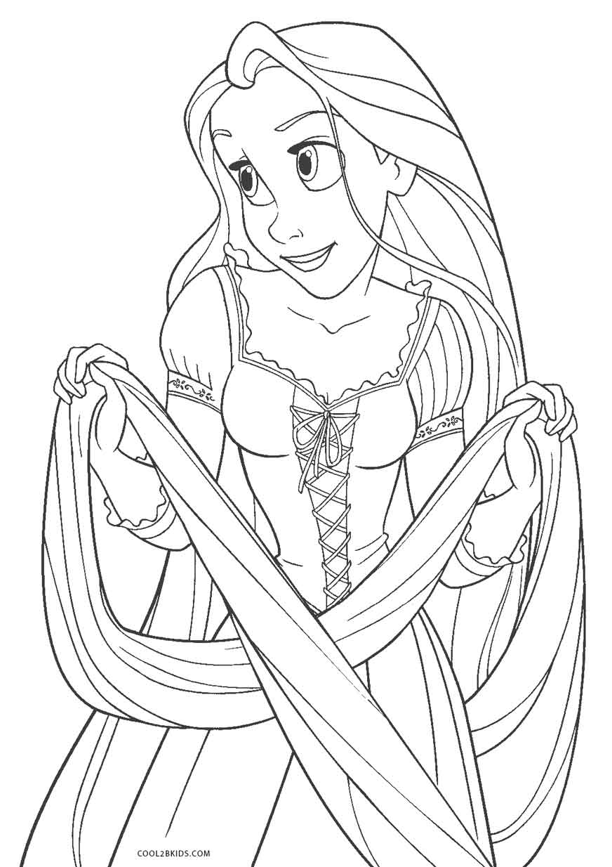 pics to colour free printable tangled coloring pages for kids pics to colour