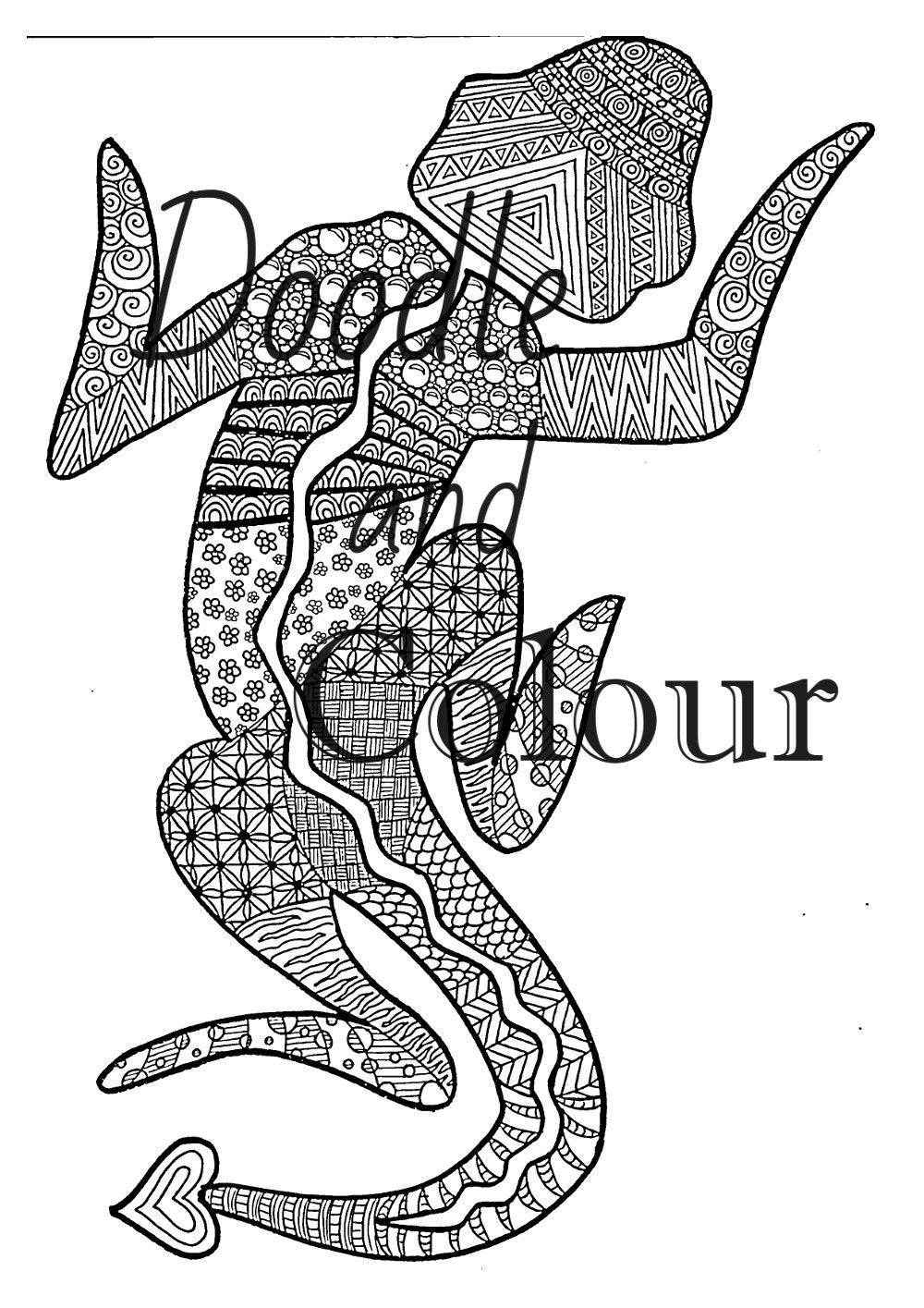 picture of a lizard to colour in printable lizard coloring pages for kids cool2bkids in picture to a of colour lizard