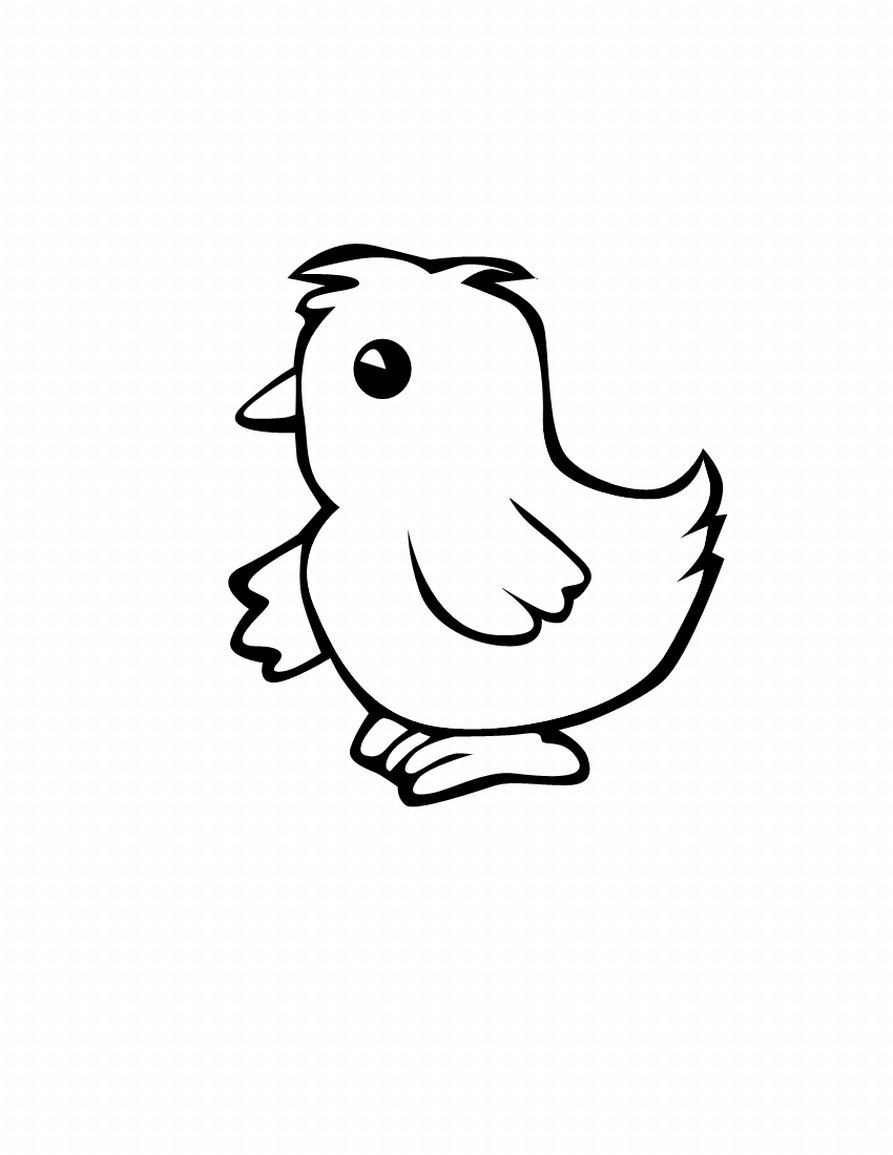 picture of a rooster to color domestic hen bird coloring page free printable coloring picture of to color a rooster