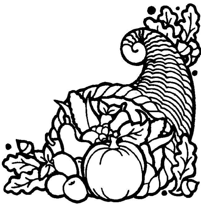 picture of cornucopia to color cornucopia coloring pages to download and print for free cornucopia picture to color of