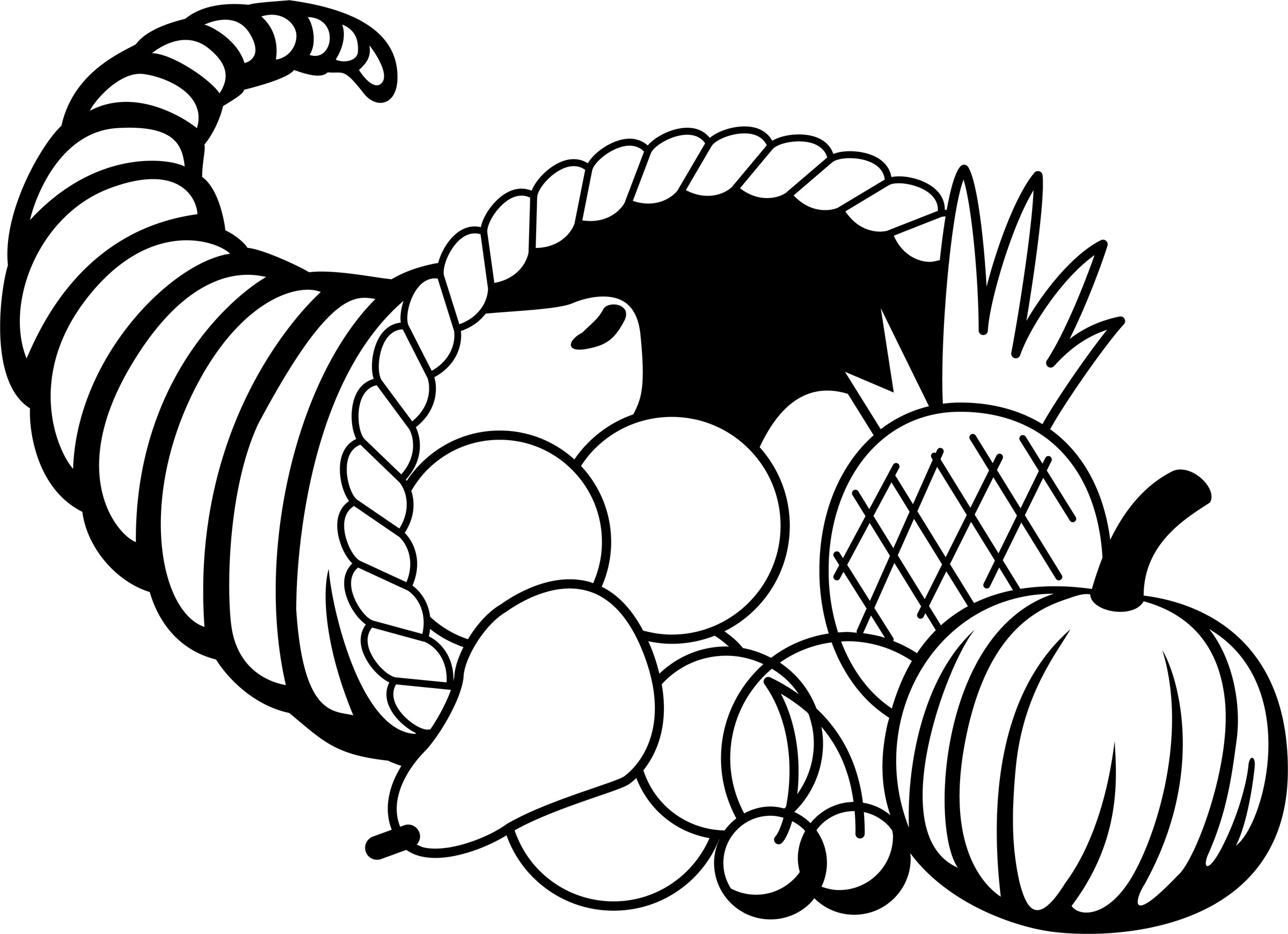 picture of cornucopia to color cornucopia coloring pages to download and print for free picture cornucopia to of color