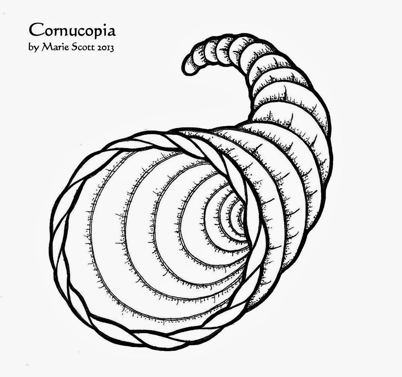 picture of cornucopia to color free printable cornucopia coloring pages coloring home of cornucopia to picture color