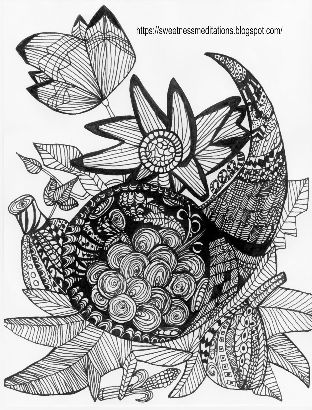 picture of cornucopia to color sweetness meditations thanksgiving coloring pages cornucopia cornucopia picture of color to