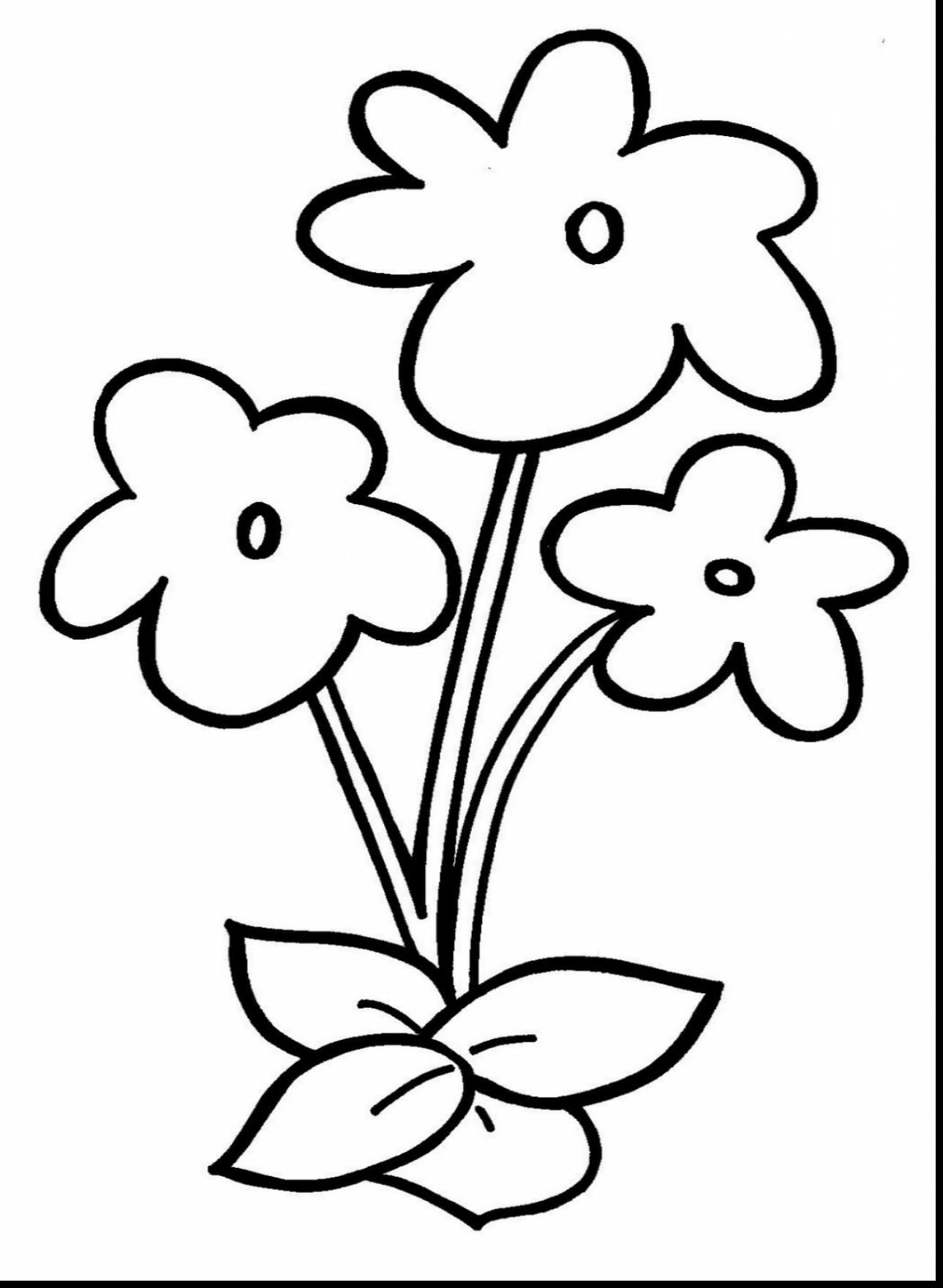 picture of flowers to print free easy to print flower coloring pages tulamama print picture of to flowers