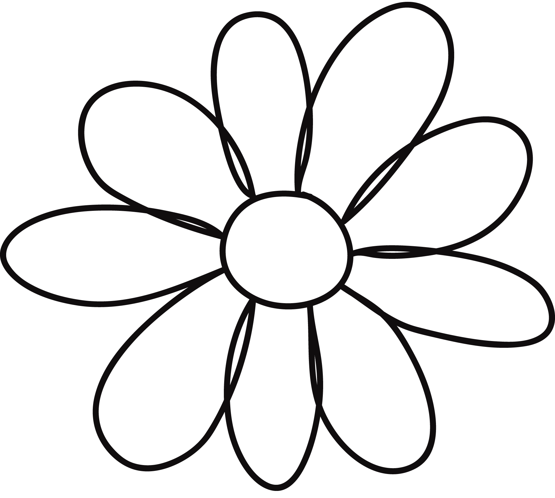 Picture of flowers to print