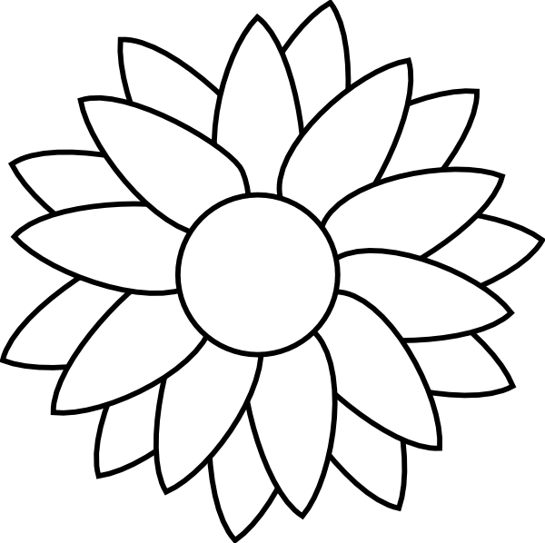 picture of flowers to print free printable flower coloring pages for kids print picture to flowers of