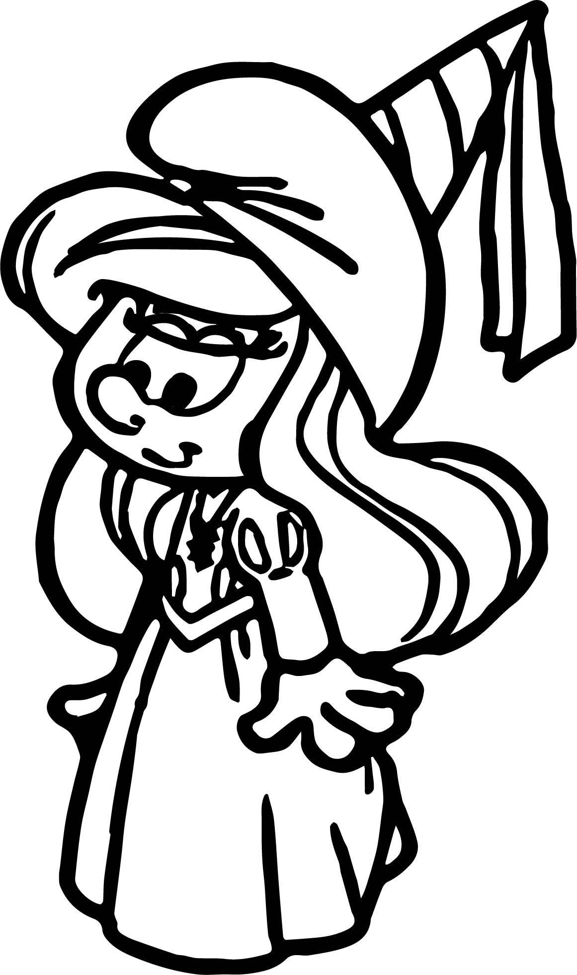 picture of smurfette smurfette drawing at getdrawings free download picture of smurfette