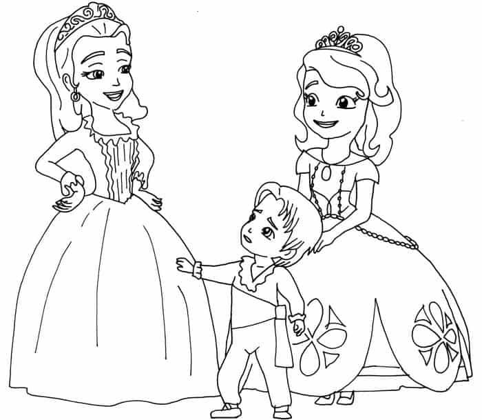 picture of sofia the first sofia coloring pages ideas for kids the sofia of picture first