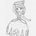 picture of sofia the first sofia the first coloring pages printable coloring pages the picture first sofia of