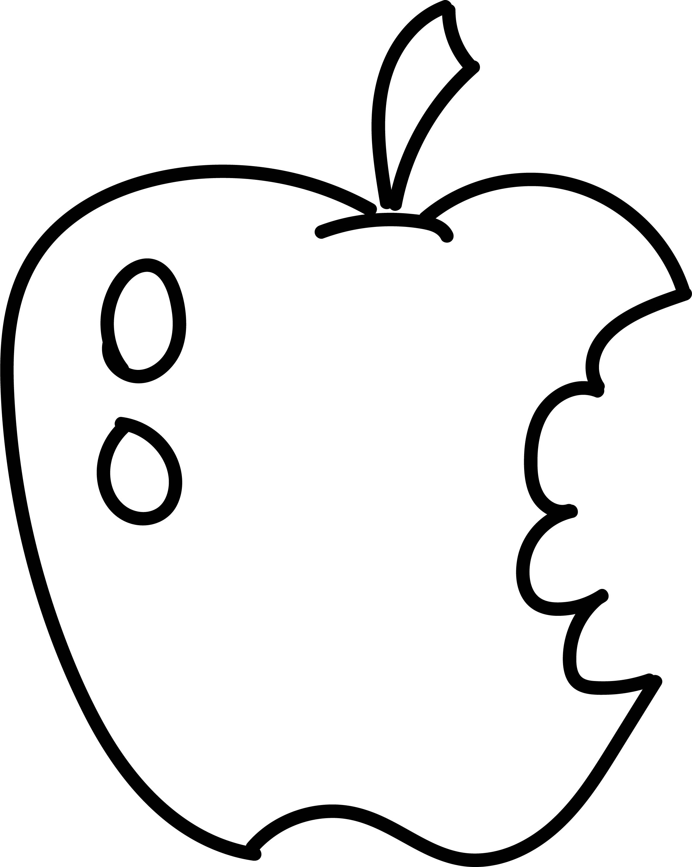 pictures of apples to color apple logo coloring pages at getcoloringscom free of pictures color apples to 1 1