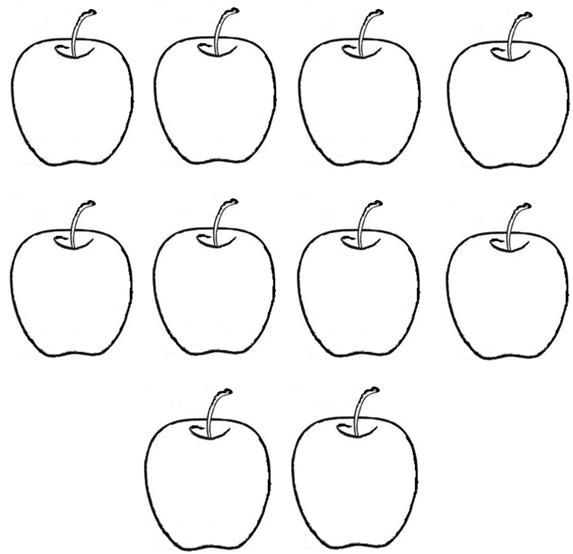 pictures of apples to color free apple tracing stencil apple clip art apple of apples to color pictures