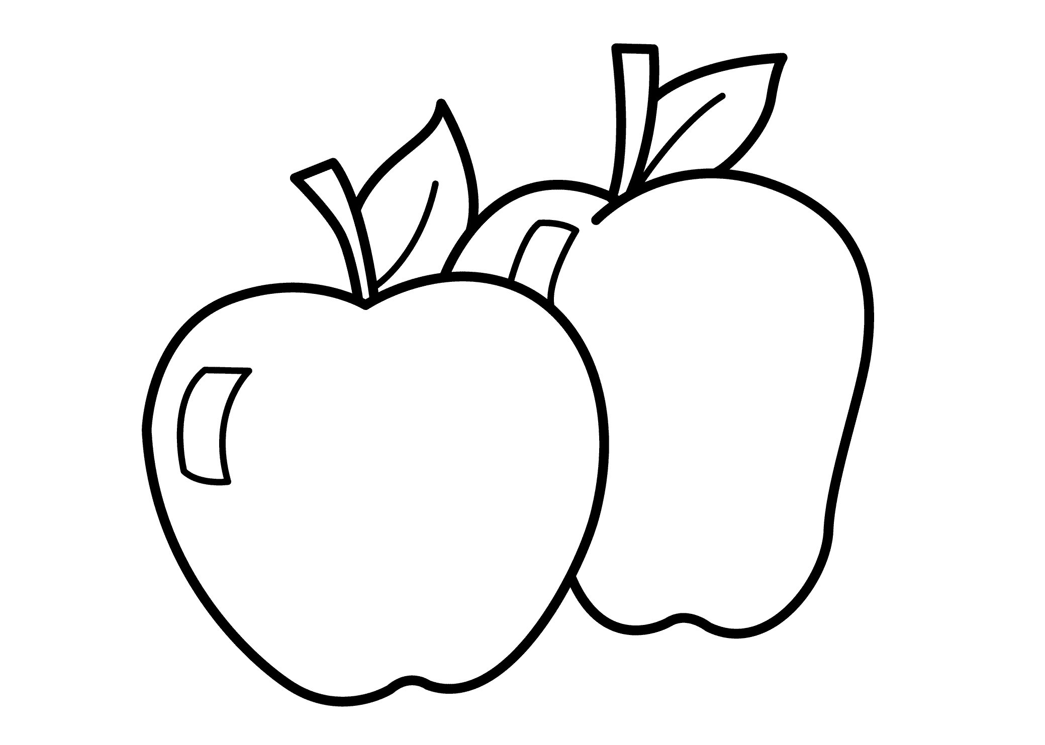 pictures of apples to color free printable apple coloring pages for kids color of to pictures apples