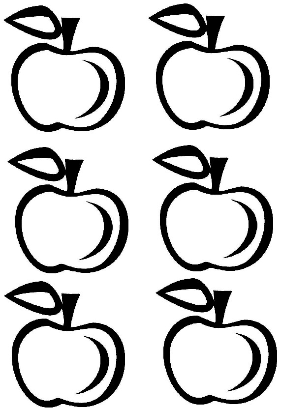pictures of apples to color happy to be scrappy an apple for the teacher apples color of to pictures