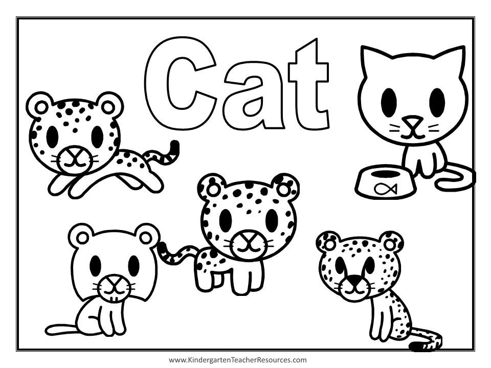 pictures of cats and kittens to color free printable cat coloring pages for kids to color of kittens and pictures cats