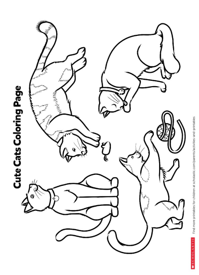 pictures of cats and kittens to color kitten coloring pages best coloring pages for kids and color cats kittens to of pictures