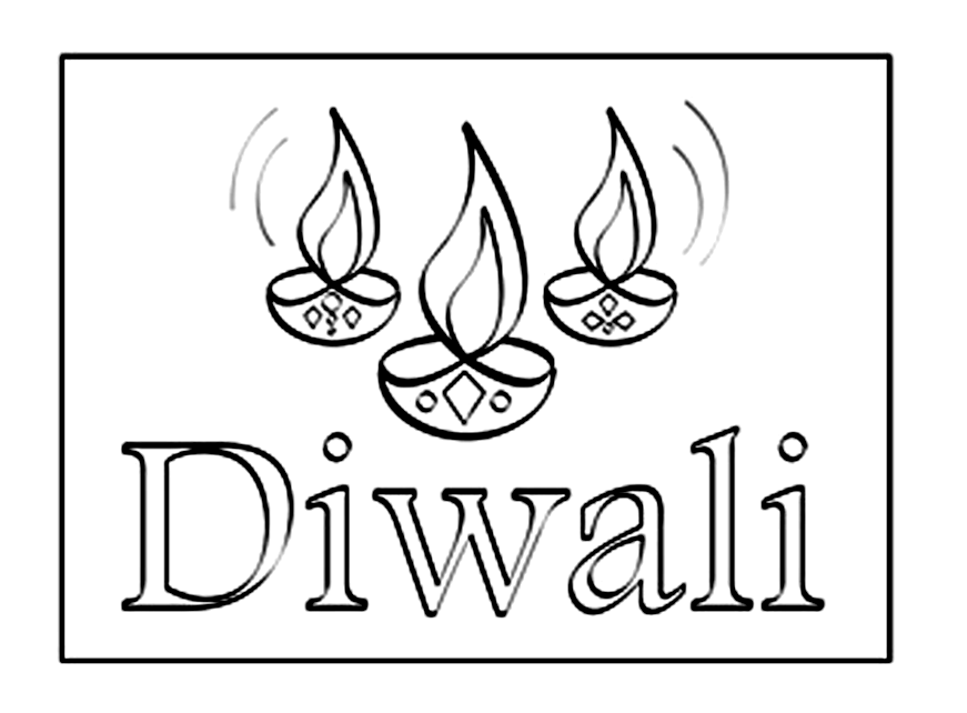 pictures of diwali for colouring diwali colouring pages family holidaynetguide to for colouring of diwali pictures