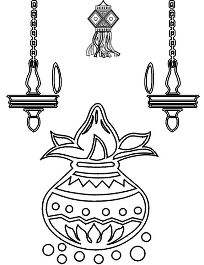pictures of diwali for colouring diwali colouring pages family holidaynetguide to for pictures colouring of diwali