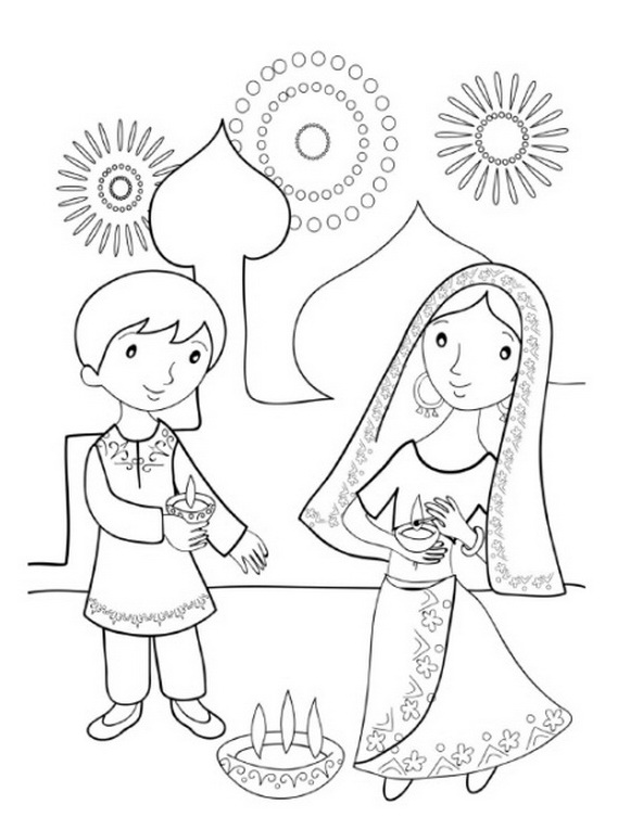 pictures of diwali for colouring diwali diyas pictures for coloring coloring pages diwali pictures of for colouring