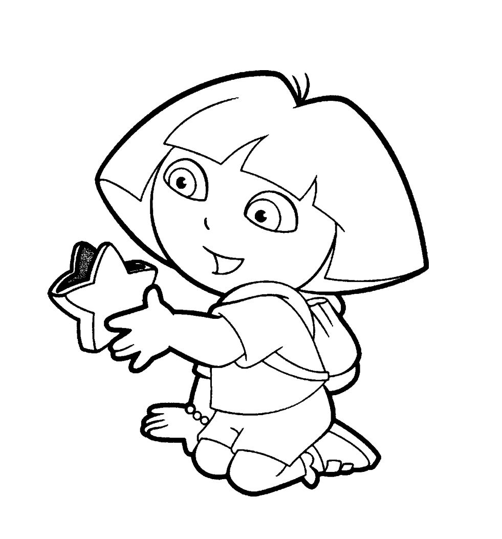 pictures of dora to color dora and boots coloring pages to download and print for free to color dora of pictures