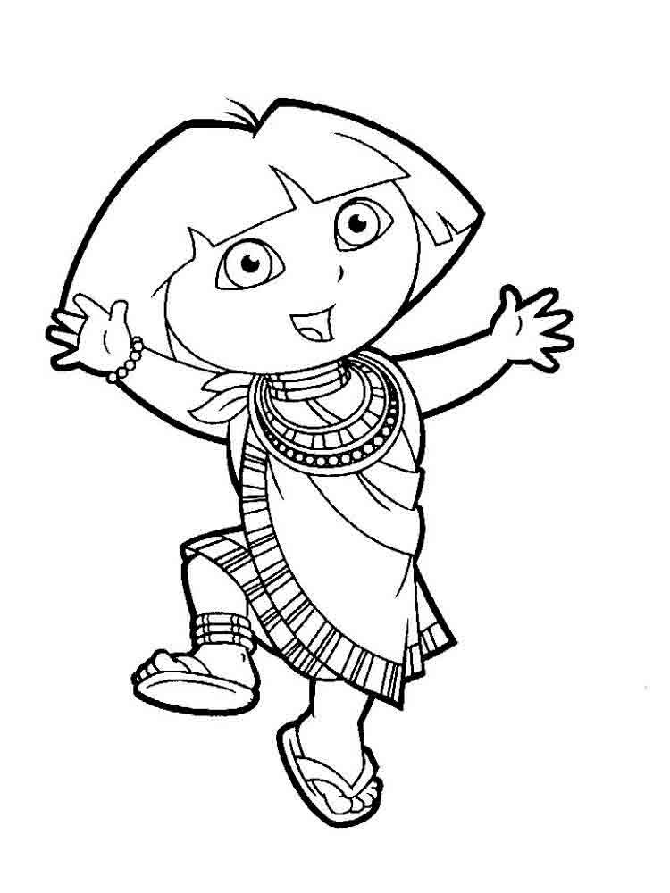 pictures of dora to color dora the explorer coloring pages minister coloring pictures of dora color to