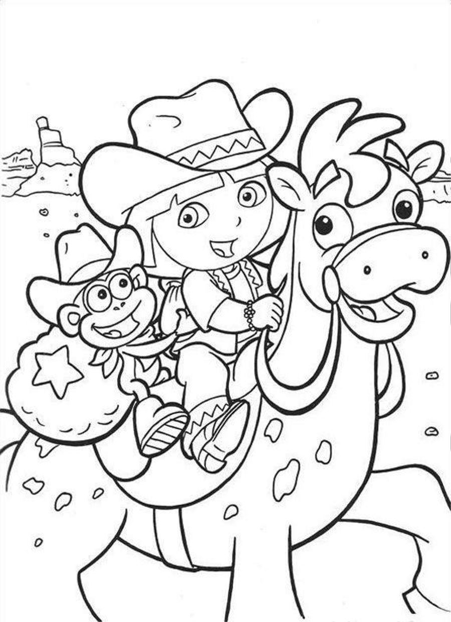 pictures of dora to color dora the explorer coloring pages minister coloring to color dora pictures of