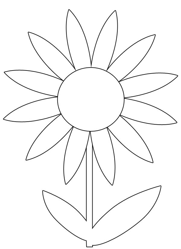 pictures of flowers to color free printables free printable flower coloring pages for kids best free to color printables pictures flowers of