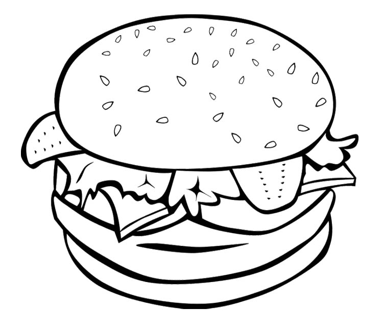 pictures of food coloring food hamburger models food coloring pages food coloring pictures food of coloring